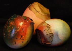 Cascarones (hollowed eggs filled with confetti)
