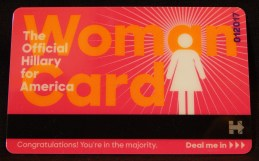 Woman's Identification Card (front)