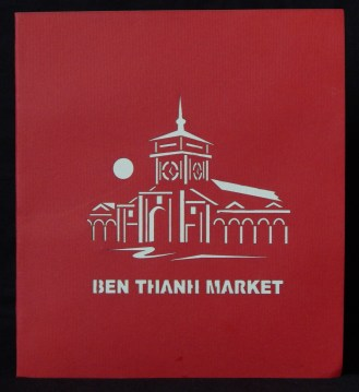 Cover of pop-up replica of Ben-Thanh Market