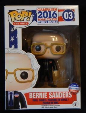 Figurine of Bernie Sanders