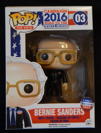Figurine of Bernie Sanders