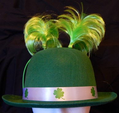 St. Patrick's Day Bowler Hat