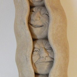 "Decoration-USA-Popular culture-Ceramic-9 1/2"" x 2 1/4"" x 2 1/2"""