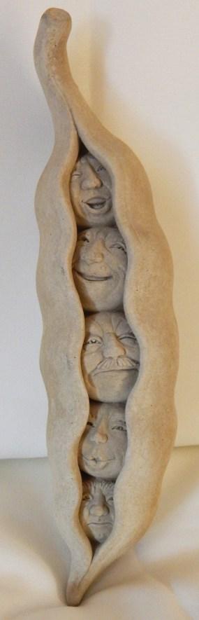 "Decoration-USA-Popular culture-Ceramic-9 1/2"" x 2 1/4"" x 2 1/2"""