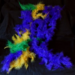 Worn during Mardi Gras at last party before Lenten season