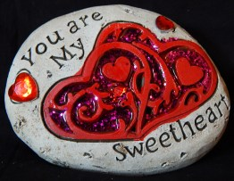 """""""You are my Sweetheart"""" Rock"""