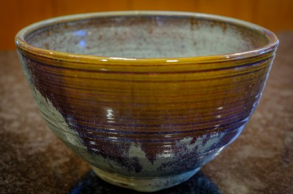 Pottery bowl made by my father, John Banks.