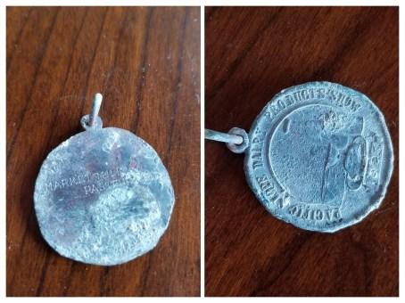 """Bronze? Diameter 1 1/4"""", won in 1923."""