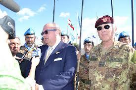 Il dr. Magri in visita in Libano a novembre scorso