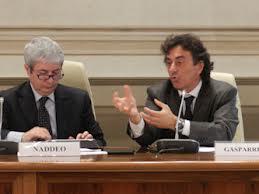 Il Presidente ARAN Gasparrini (a destra) con il Capo Dip. FP Naddeo