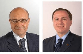 Il sen. Nicola La Torre e l on. Elio Vito, Presidenti delle Commissioni Difesa