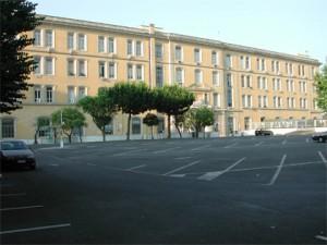 La caserma Bianchi in Roma sede del COMLOG Esercito