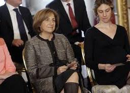 Le Ministre M. Madia e M.C. Lanzetta