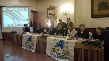 Il tavolo di Presidenza del Convegno con parlamentari M5S, PD e FI