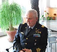 Il gen. U. Baldi, Capo 1° Rep. SMD presente alla riunione