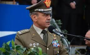 Il gen. C.A. Danilo Errico, Capo di SME