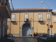"""L'entrata del Pirotecnico di Capua, uno dei sei """"polverifici"""" del M.D."""