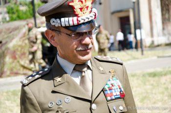 Il gen. C.A. Danilo Errico-Capo di SME.