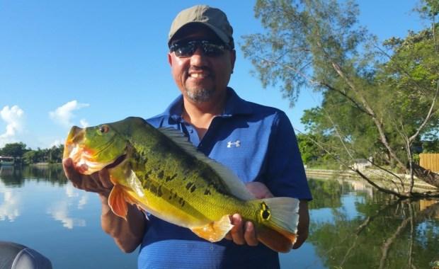 Tarpon Caught While Fishing The Blue Lagoon
