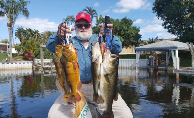 Florida Fishing For Miami Peacock Bass