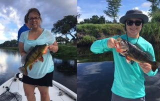 Mixed Florida Bass Fishing Charters