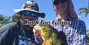 Joe Gruny - Florida Peacock bass fishing guides