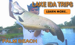 Lake Ida Palm Beach-Florida Peacock Bass Fishing Locations