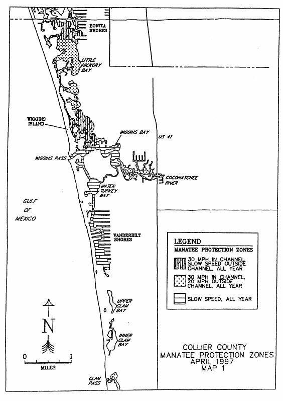 68C-22.023. Collier County Zones, 68C-22. The Florida