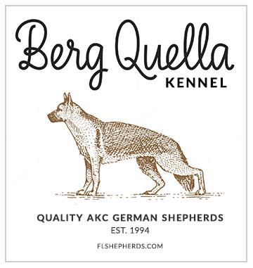 Berg Quella Kennel logo