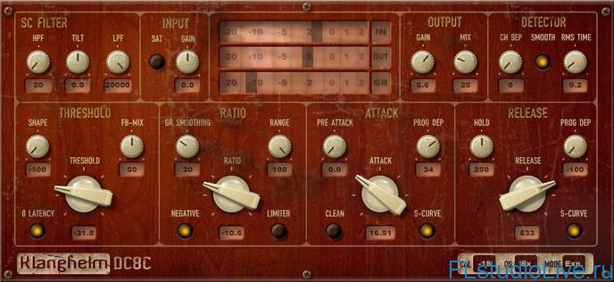 Скачать VST инструмент — Klanghelm DC8C VST для FL Studio