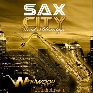 Комплект лупов Windwood Audio - Sax City - для FL Studio