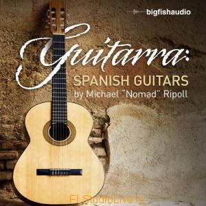 Лупы и сэмплы гитары Big Fish Audio - Guitarra Spanish Guitar Loops для FL Studio 10