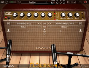 плагин Kuassa Amplifikation Vermilion v1.0.0b для FL Studio