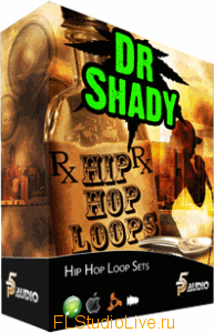 Сэмплы для FL Studio - P5 Audio - Dr Shady Hip Hop Loop