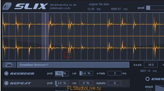 De La Mancha SLIX v1.01 VSTi для FL Studio