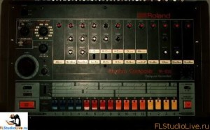 Высококачественные сэмплы ударных из серии All Roland TR and Boss DR для FL Studio