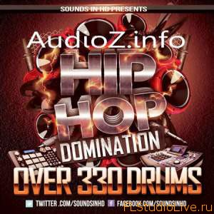 Сэмплы для FL Studio Sounds In HD Hip Hop Domination Drum Kit