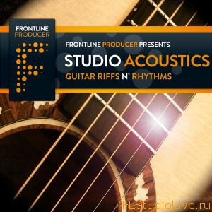 Сэмплы для FL Studio Frontline Producer Studio Acoustics Guitar Riffs N Rhythms