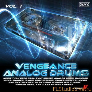 Скачать сэмплы для Fl Studio Vengeance Analog Drums Vol.1