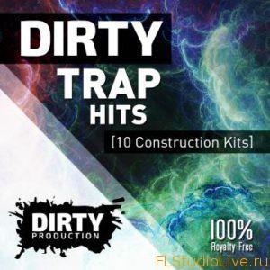 Скачать сэмплы для FL Studio Dirty Production Dirty Trap Hits WAV MiDi-DISCOVER