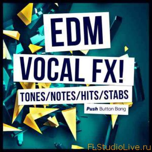 скачать сэмплы для FL Studio - Push Button Bang EDM Vocal FX WAV