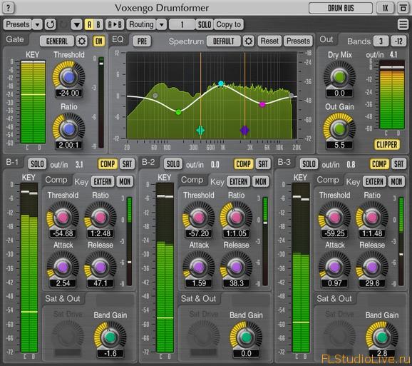 Cкачать VST плагин Voxengo Drumformer v1.5 для FL Studio