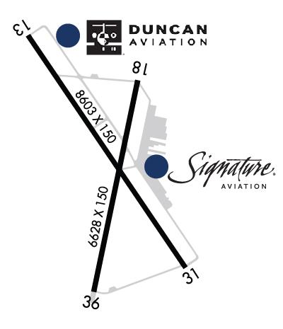 Airport & FBO Info for KPVU PROVO MUNI PROVO UT