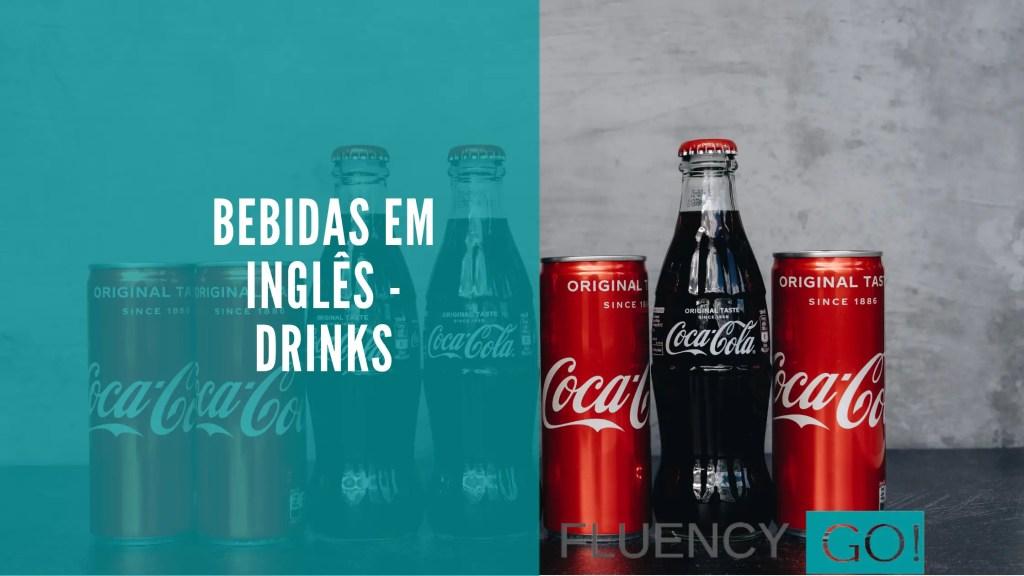 Bebidas em inglês