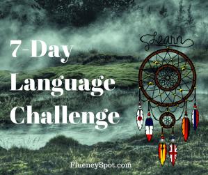 The 7 day language challenge