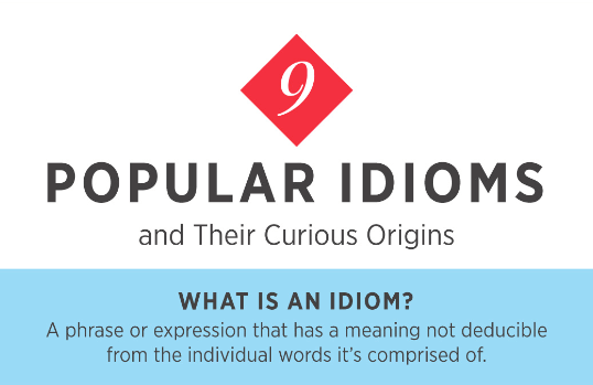 9 Popular English Idioms And How They Came To Life