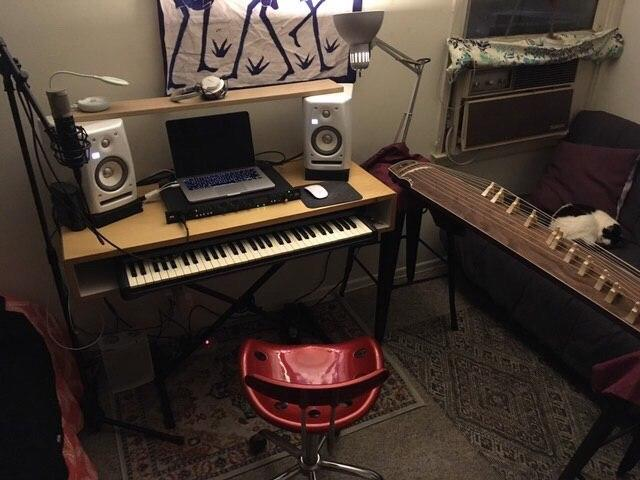 Kim Jong Chill's home studio