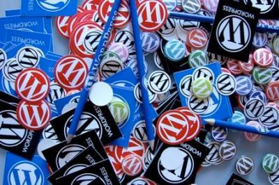 WordPress缶バッジ