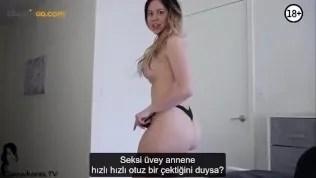Karantina boyunca sikişmeyen kadın çıldırıyor – Türkçe altyazılı porno