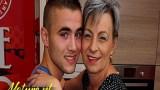 Hollandalı yaşlı kadın jigolo ile mutlu
